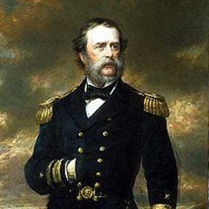 U.S. Navy Rear Admiral Samuel Francis du Pont was an