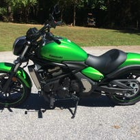 The 2015 Kawasaki Vulcan S can be fitted for a variety of riders.
