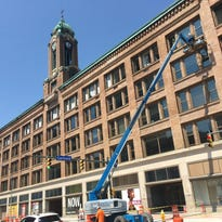 Under construction: Go inside Sibley Square on Tuesday