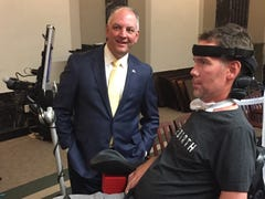 Saints legend and ALS advocate Steve Gleason may soon have his own license plate