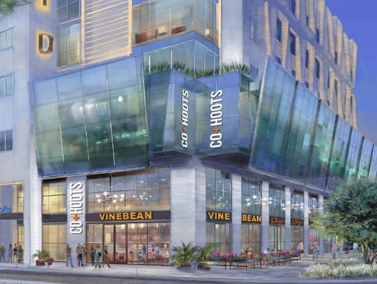 A rendering of a $59 million development called The