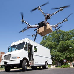 Is this drone the future of the Postal Service?