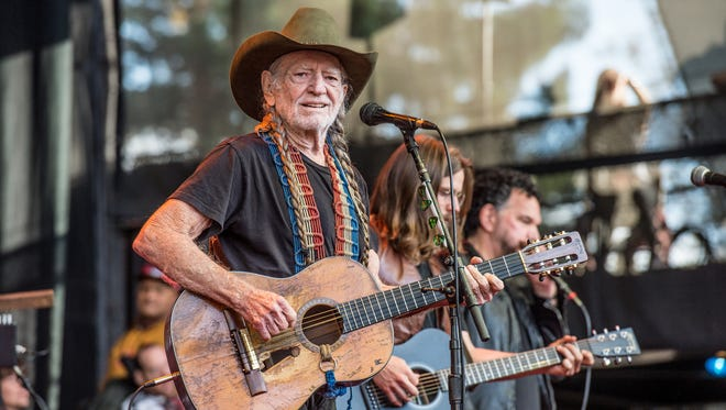 Country music icon Willie Nelson will perform in Knoxville on April 6 at the Tennessee Theatre.