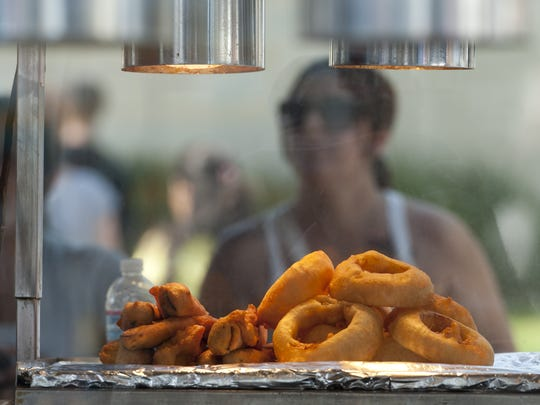 Fried foods are popular and plentiful at the Tulare County Fair.