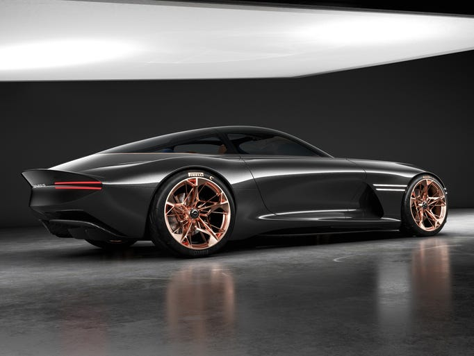 Hyundai's Genesis Goes For Style With Essentia Sports Car