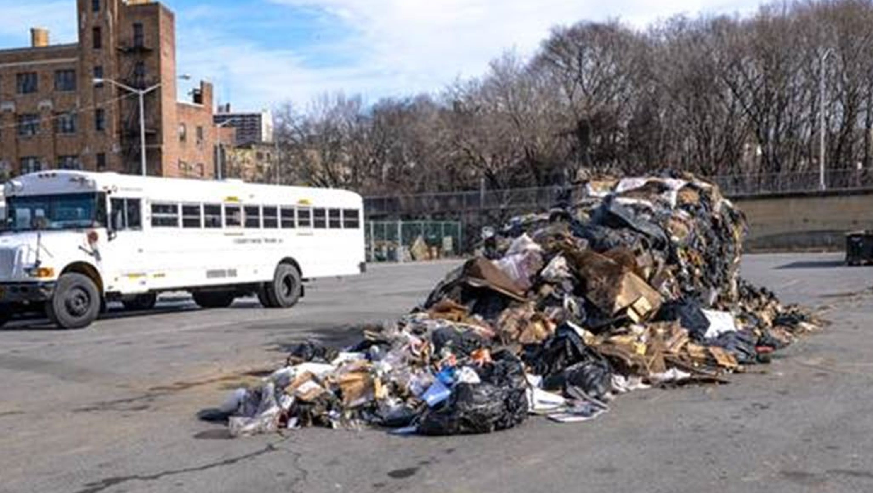 Croton man arrested for dumping 20 000 pounds of trash in Yonkers