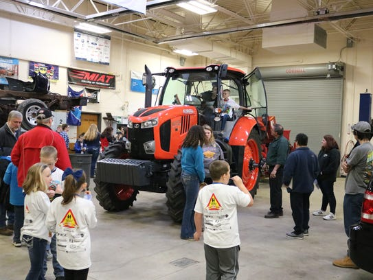 The Clyde FFA helps area youth learn about tractor