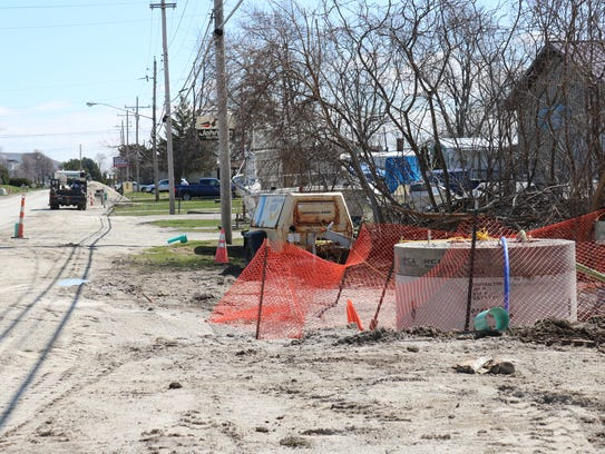 As part of a $940,000 sewer project, crews will construct
