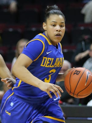 Delaware guard Erika Brown