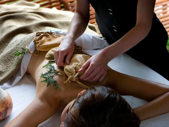 Aspira Spa, located inside the Osthoff Resort on the