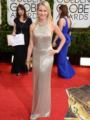 AP 71st Annual Golden Globe Awards - Arrivals