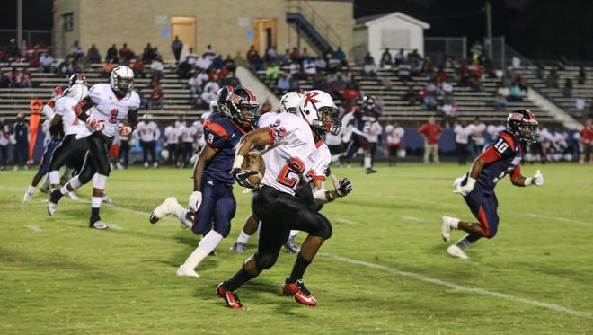 Richwood running back Anthony Watson has topped 100 yards rushing in six of the last seven games.