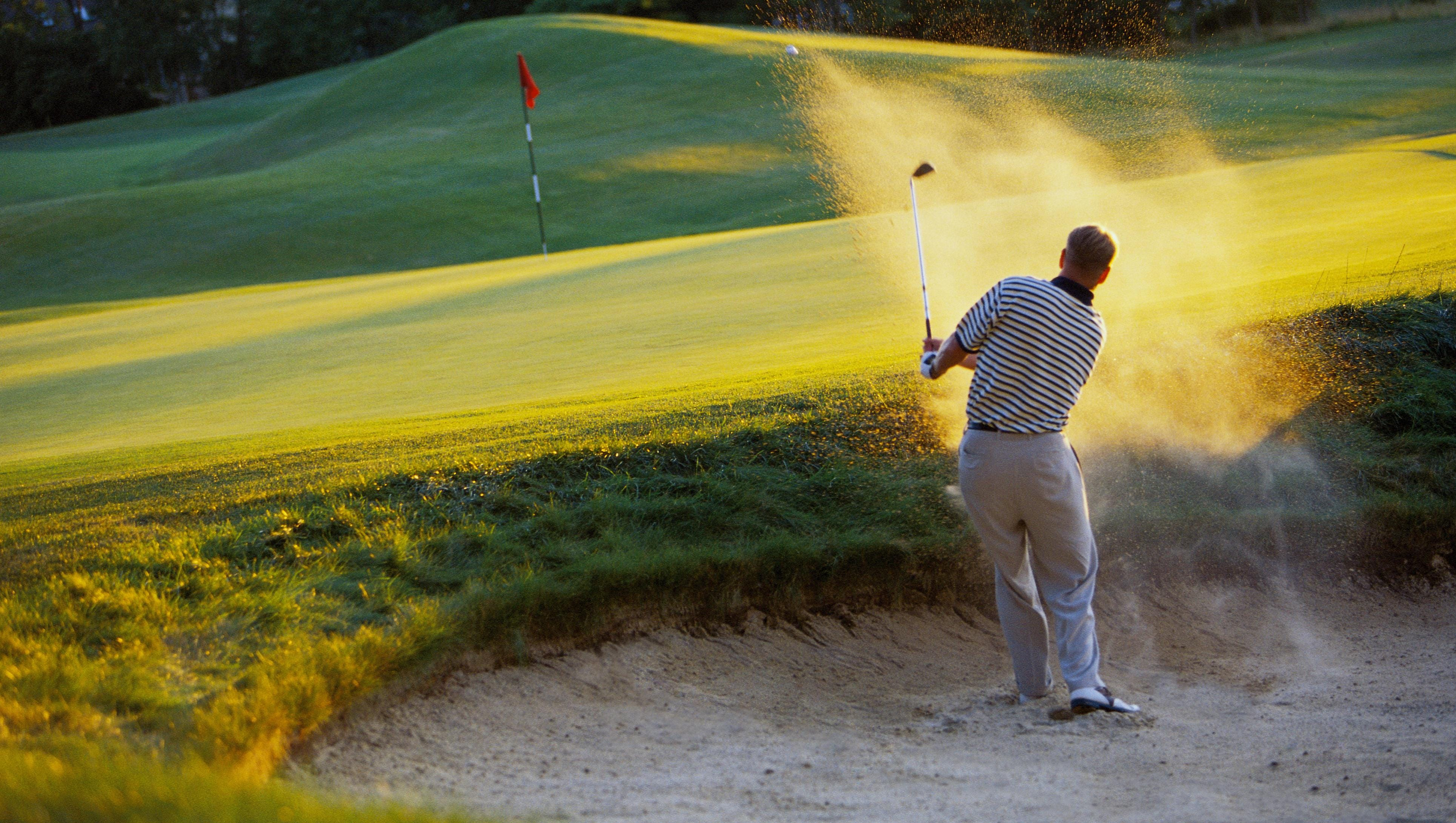 Golf tip: Getting out of sand trap or bunker