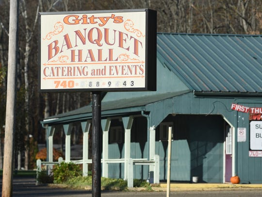 Gity's Banquet Hall is near the entrance to Dillon