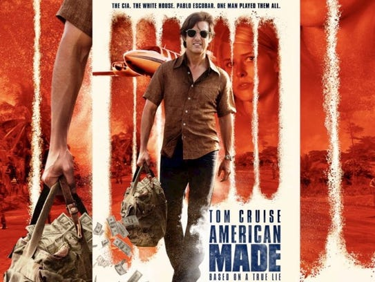 """Tom Cruise stays in the soon-to-be-released move, """"American"""