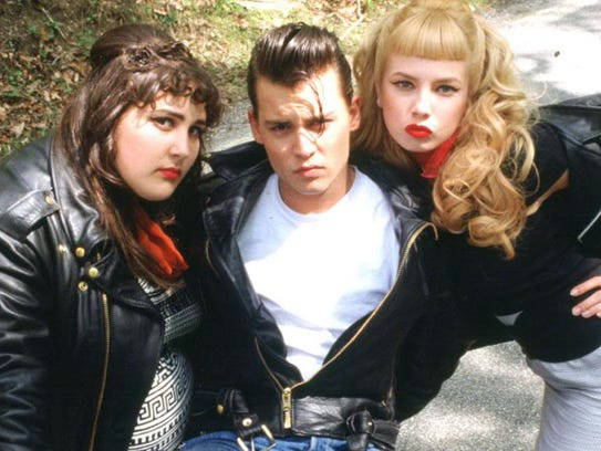 Universal Pictures Johnny Depp (with Ricki Lake, left,