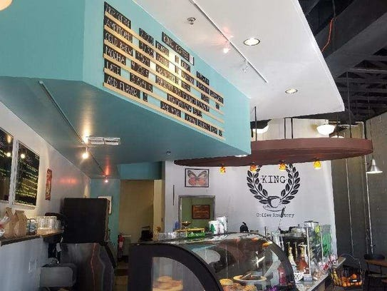 King Coffee has locations in Tempe and Phoenix.