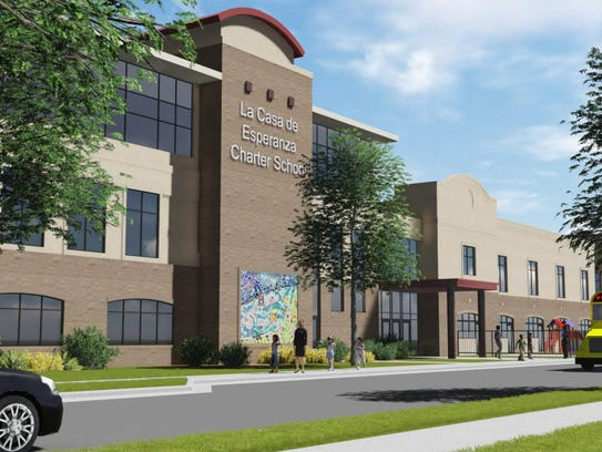 A rendering of La Casa de Esperanza's expansion of