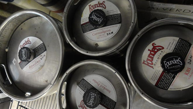 Special limited kegs from Founders Brewing, including the prized Kentucky Breakfast Stout, will be featured Saturday at a special event at Hopjacks Filling Station.