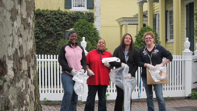 Volunteers take part in a previous Kingston Clean Sweep. This year's event will be held May 3.