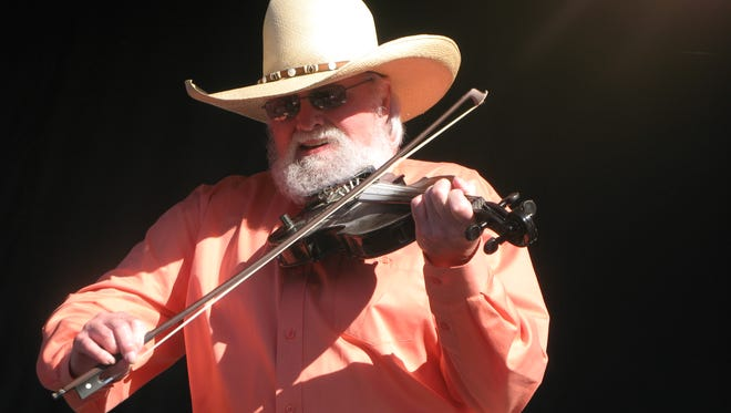 Charlie Daniels performs Sunday in Saugerties during a concert co-presented by the Bardavon 1869 Opera House in Poughkeepsie and Hits-on-the-Hudson, an equestrian facility.
