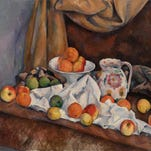 """Paul Cézanne's """"Still Life (Nature morte)"""" is an 1892-94 work in oil on canvas."""