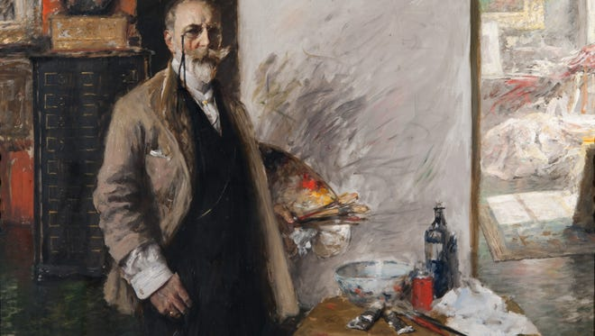 The self-portrait of William Merritt Chase in Richmond Art Museum's collection has been loaned to museums in Washington, D.C., Boston, Massachusetts, and Venice, Italy.
