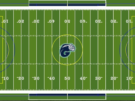 A rendering of Ave Maria's new football, soccer and