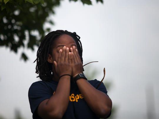 Jasmine Johnson, childhood friend of Sandra Bland,