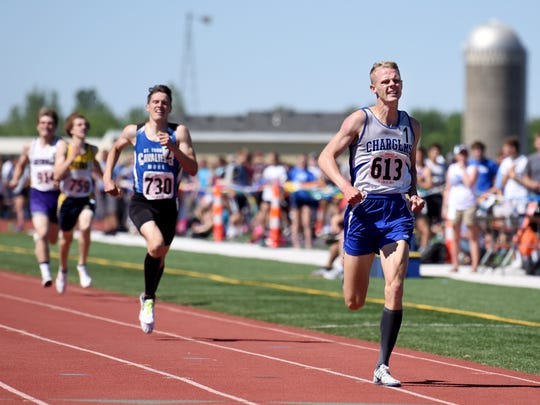 Sioux Falls Christian's Caleb DeWeerd leads the way