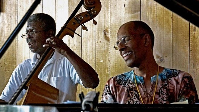 Program director Marshall Hawkins, left, will again play with pianist Harry Pickens at Jazz in the Pines