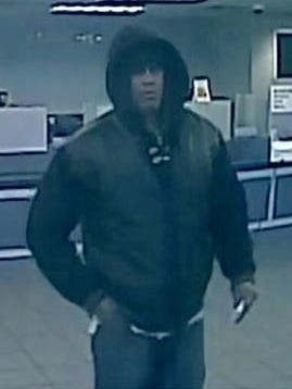 Police say this man robbed a Glassboro bank on Friday.