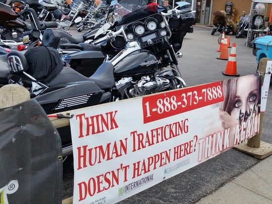 Multiple organizations spread awareness about human
