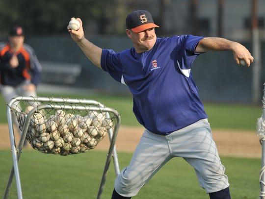 COS Giants head baseball coach Jody Allen has coached