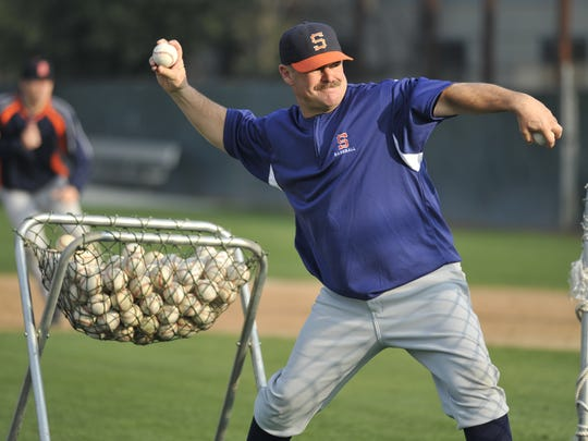 COS Giants head baseball coach Jody Allen has coached