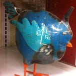 I found this little bird for $3.24 at the Meijer in Royal oak. Regular price: $12.99