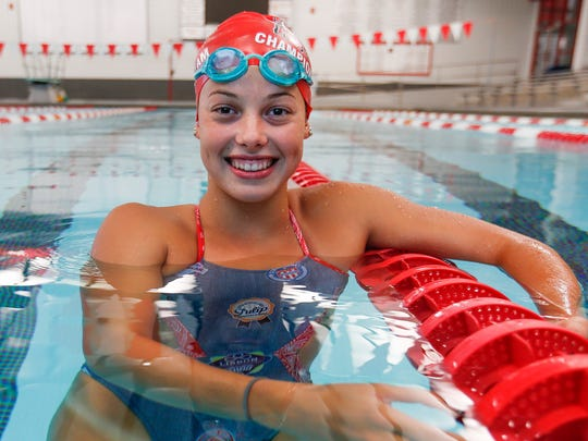 Bailee Nunn qualified for the Olympic Trials as a senior in high school in Marshfield. She is swimming for Drury University this fall and is hungry to take another shot at reaching the Olympics.
