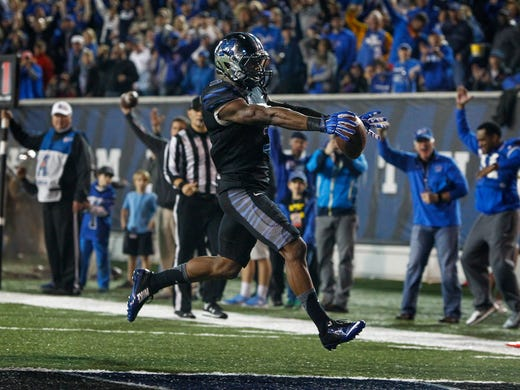 October 31, 2015 - Memphis receiver Anthony Miller