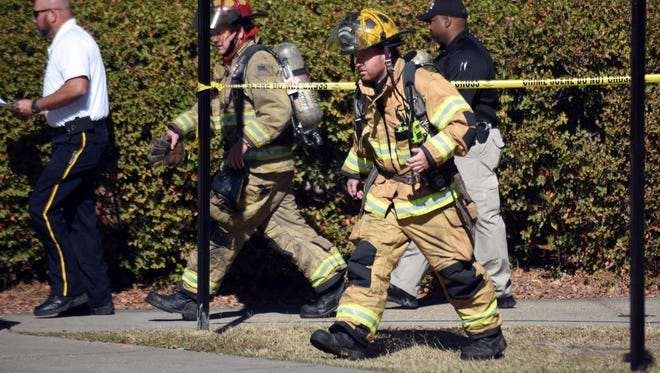 Hattiesburg Fire Department is called to Southern Miss' Theatre and Dance building to put out a small fire in the basement and storm drainage system.