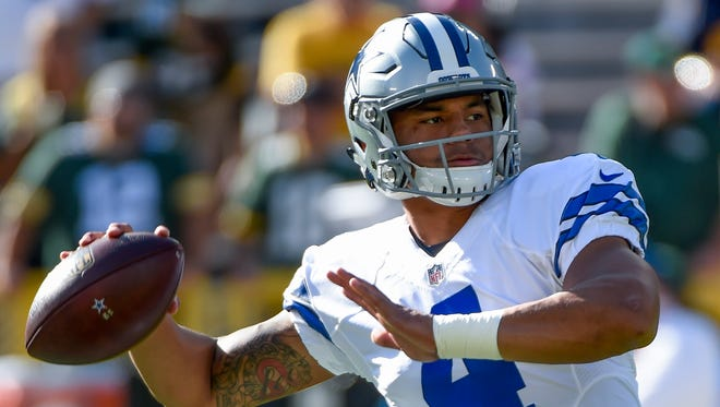 Cowboys rookie Dak Prescott is off to an historic start to his NFL career.