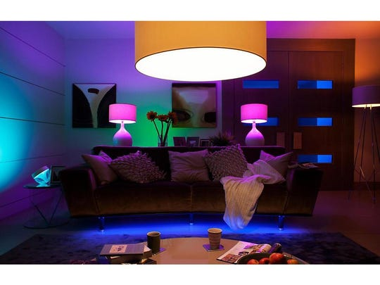 The Philips hue smart lights are ideal for energy-saving convenience and customization.