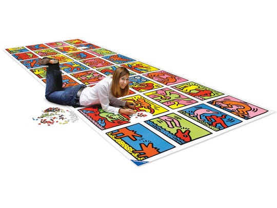 The World's Largest Jigsaw Puzzle by Hammacher Schlemmer.