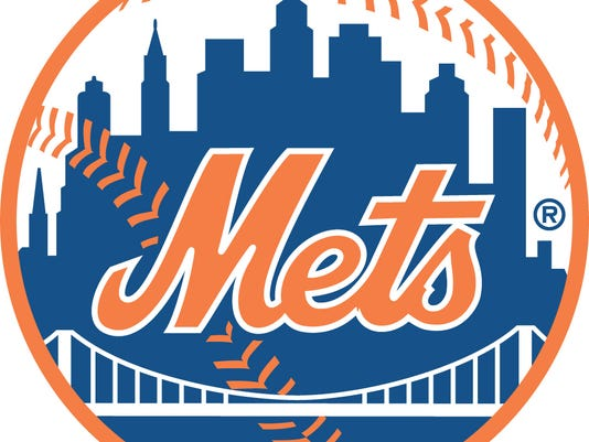 webart sports new york mets logo