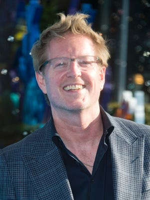 """Director Andrew Stanton attends the Disney premiere of """"Finding Dory"""" at El Capitan Theater, in Hollywood."""