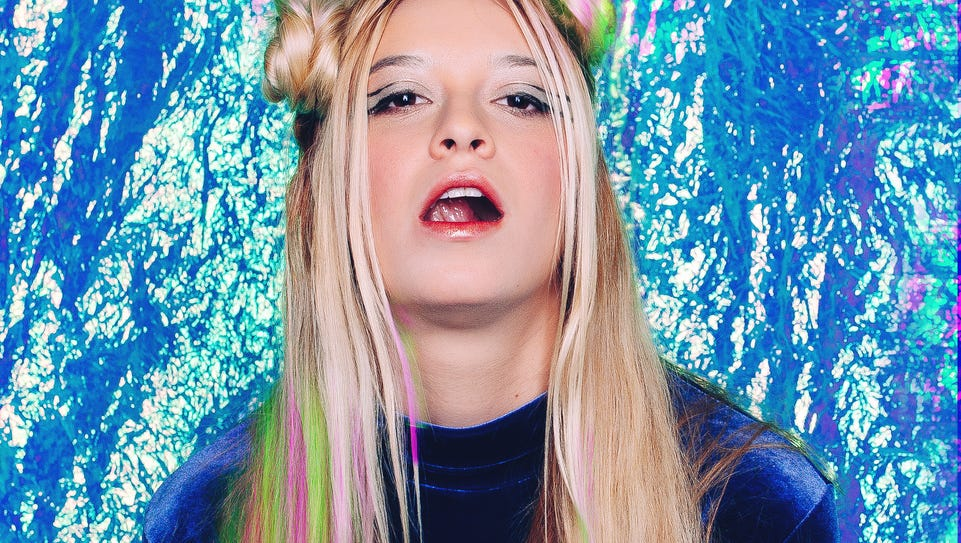 Melissa Brooks and The Aquadolls will play Monday at