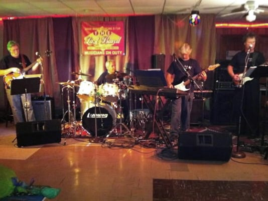 The Last Band includes members Skip Wagaman, guitar, keyboard, harp, vocals; Mike King, guitar, harp, vocals; Bill Fink, drums; and Rick Osborn, bass.