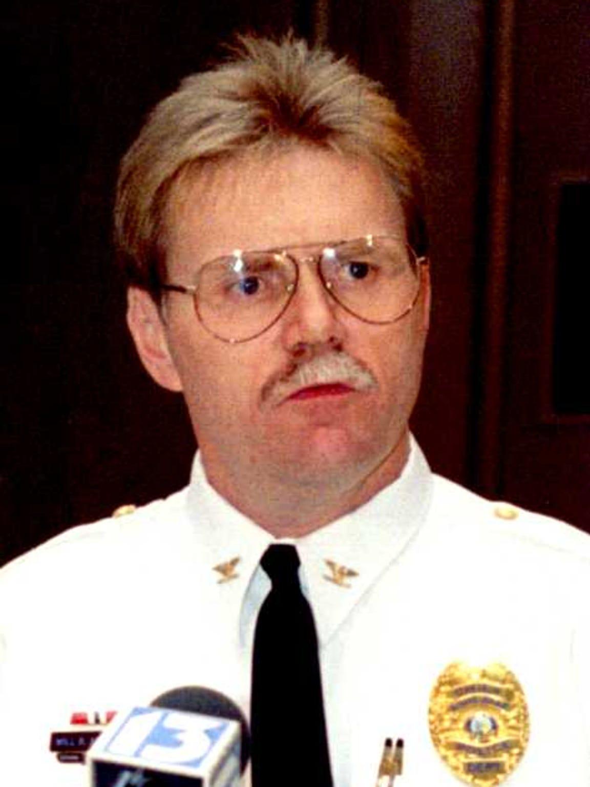 Police Chief Will Annarino in 1993.