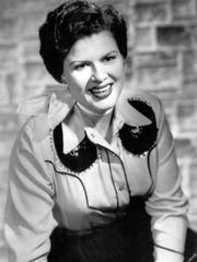 Country singer and recording star Patsy Cline is shown in this undated photo. Cline died in a plane crash on March 5, 1963.