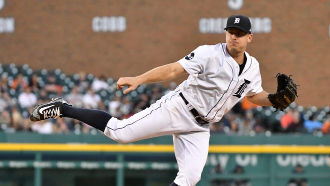 Tigers pitcher Jordan Zimmermann has a 6.28 ERA heading into Thursday's start against the Orioles at Comerica Park.