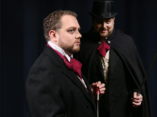 Kameron Going plays Dr. Jekyll and Mr. Hyde in Riverwalk's